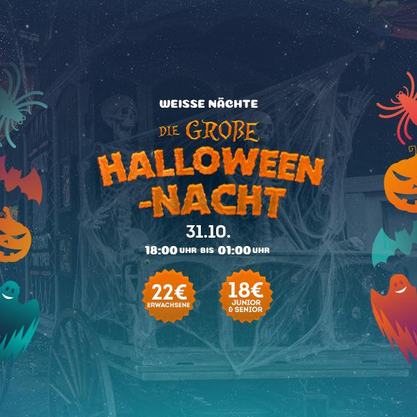 Noche Blanca - Gran Noche Halloween - Mosaico Home (de)