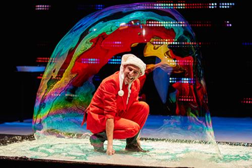 Espectáculos Navidad - Distributiva - Winter Magic Bubblebou