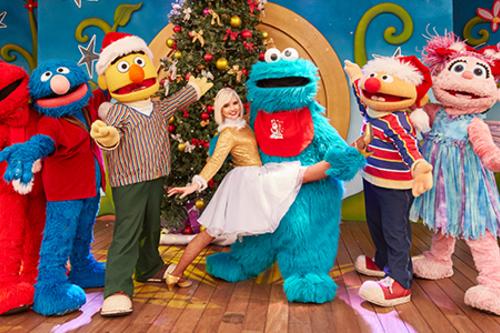 Espectáculos Navidad - Distributiva - ¡Ya es Navidad en SésamoAventura!