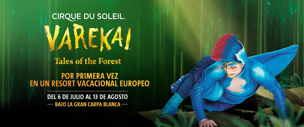 Espectáculos y Música - Cirque du Soleil - Varekai landing (ES)