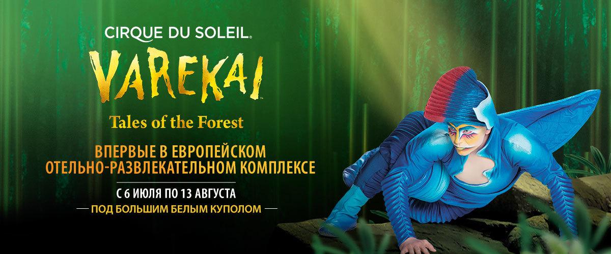 Espectáculos y Música - Cirque du Soleil - Varekai landing (RU)