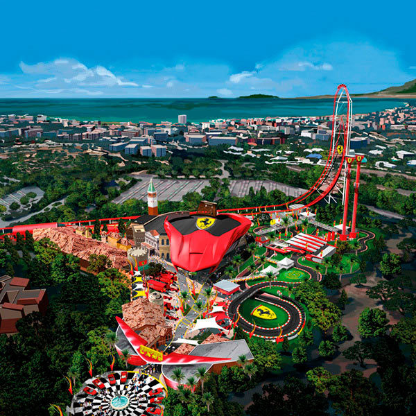 Home - Mosaico - Ferrari Land PortAventura World 2017