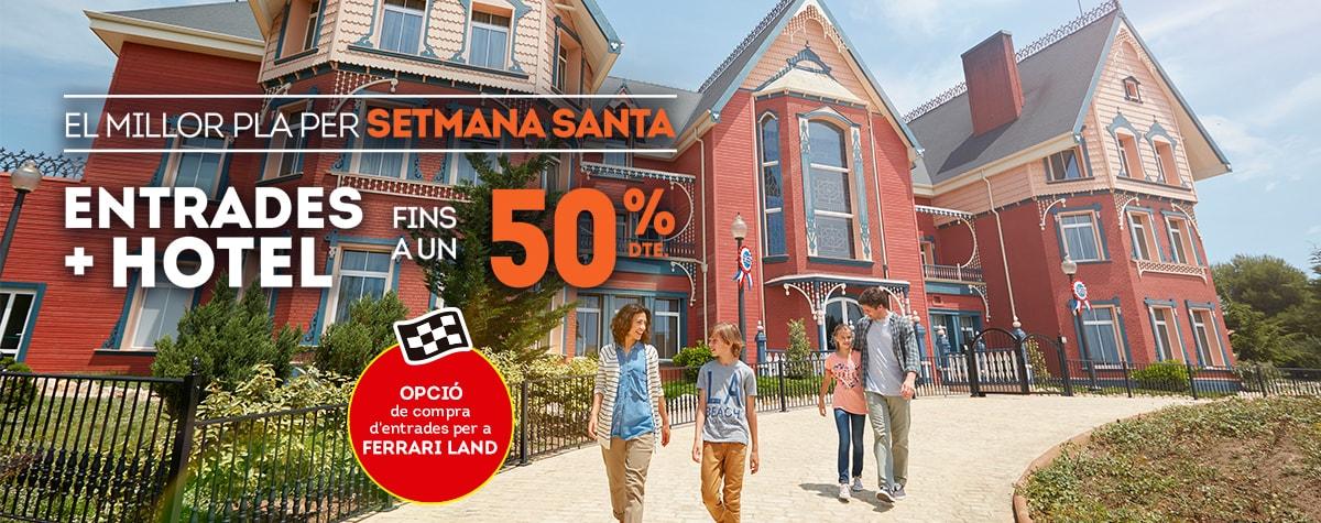 Home - Mosaico - Promo Semana Santa 50% dto. Opción Ferrari (CA)