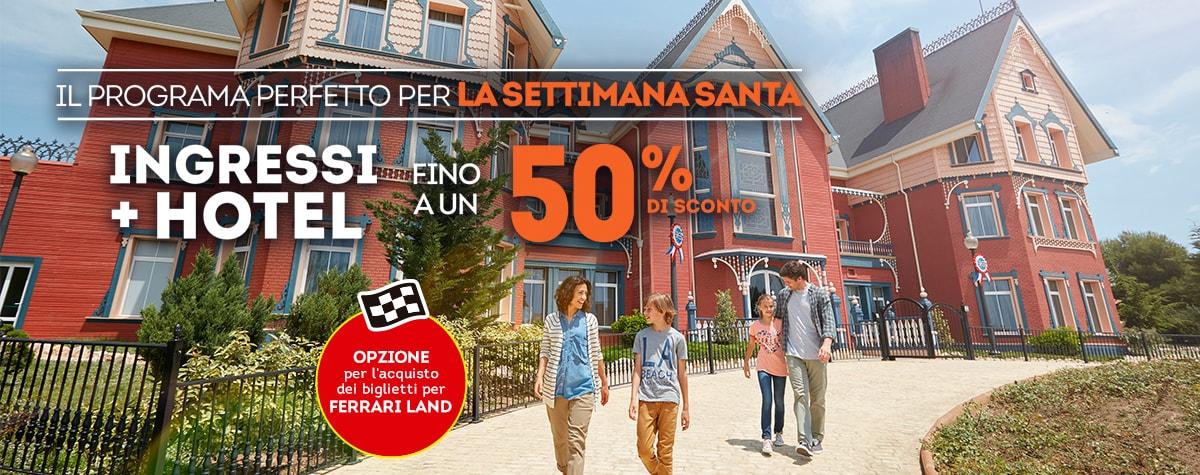 Home - Mosaico - Promo Semana Santa 50% dto. Opción Ferrari (IT)