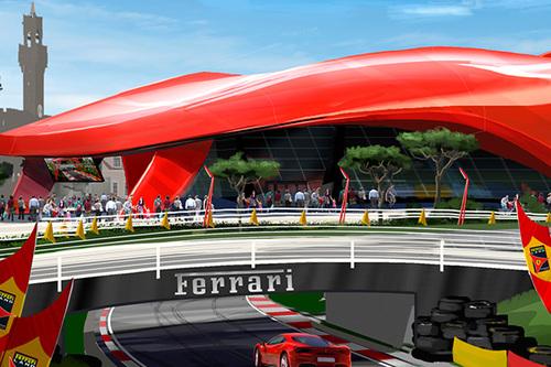 Atracciones Ferrari Land