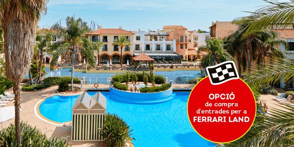 Promociones - Verano con Hotel + Topo Opción Ferrari (CA)