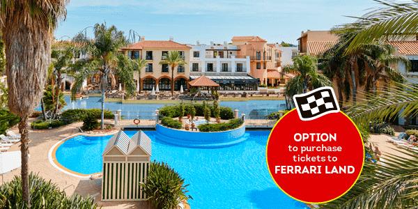 Promociones - Verano con Hotel + Topo Opción Ferrari (EN)