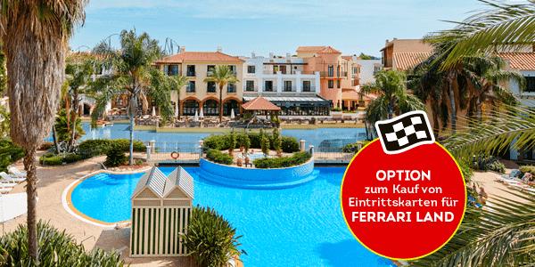 Promociones - Verano con Hotel + Topo Opción Ferrari (DE)