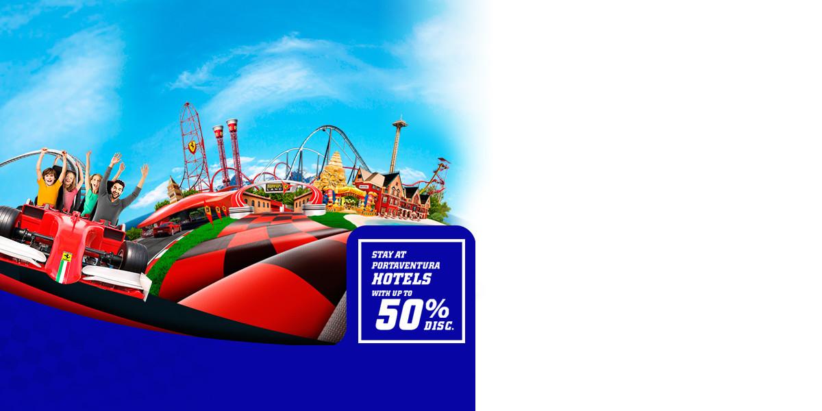 Promoción - Slider - Promo Hoteles 50% Tickets FL (EN)