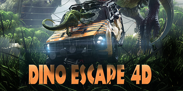 Dino Escape 4D - distributiva