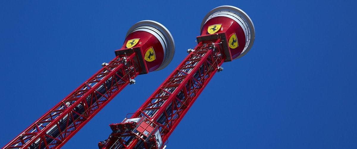 Torre de Caída Libre Ferrari Land 1