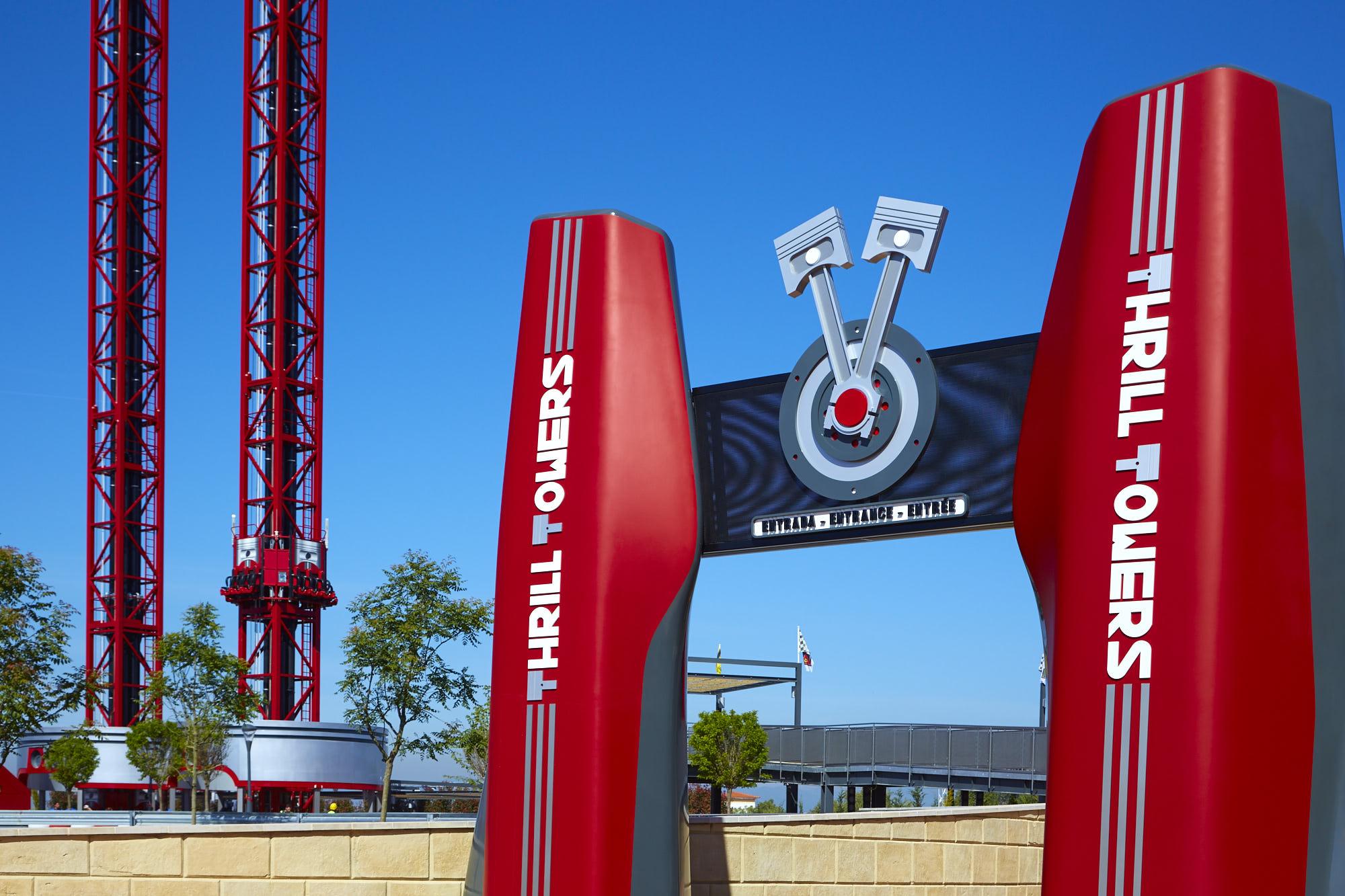 FL atracciones Torre Rebote principal