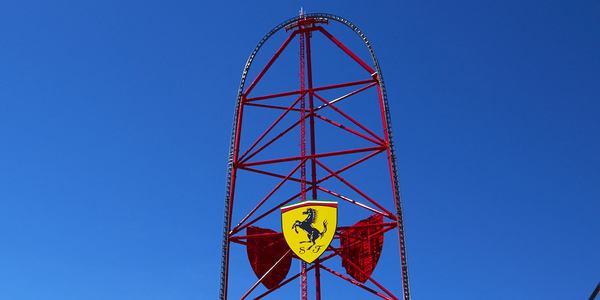 FERRARI LAND DISTRIBUTIVA ATRACCIONES Y JUEGOS RED FORCE