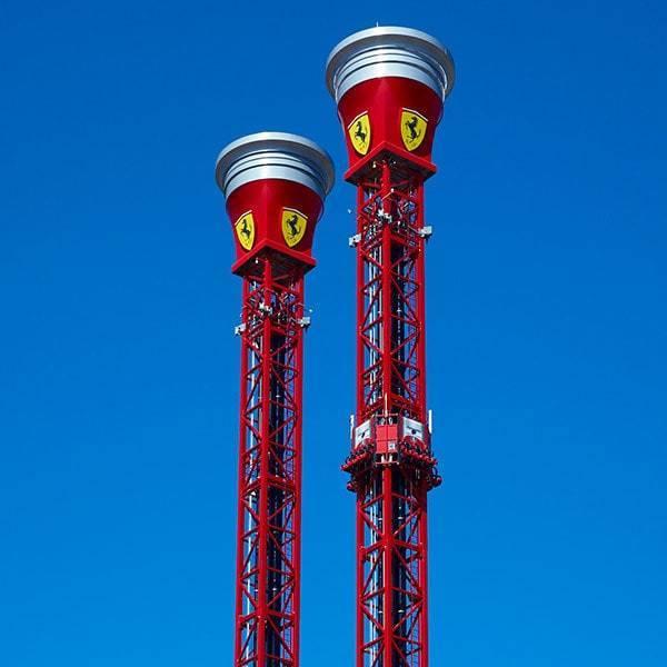 Torre de Rebote Ferrari Land 2