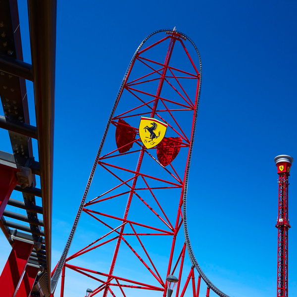 Ferrari Land Attractions