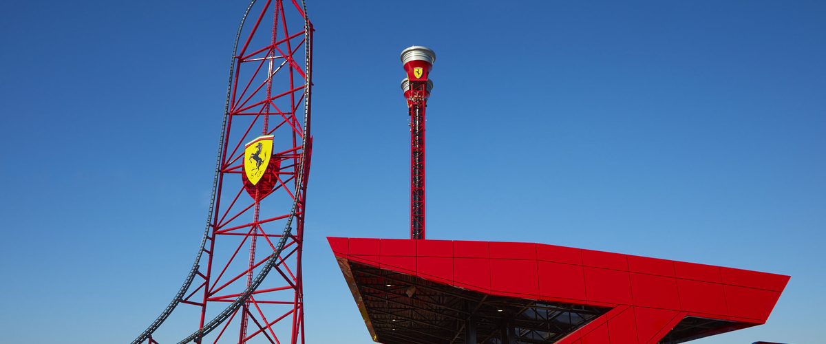 FERRARI LAND PANORAMICA 1