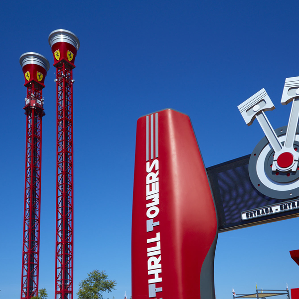 red force - attractions ferrari land