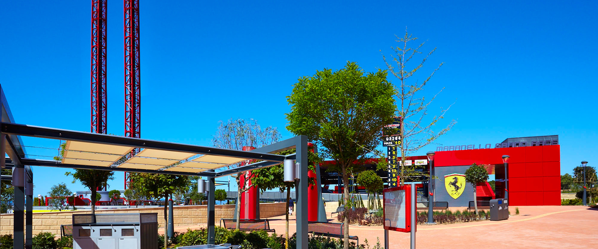 Restaurante Paddock Ferrari Land 5