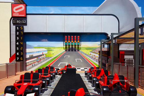 FERRARI LAND TIENDAS PHOTORIDE JUNIOR CHAMPIONSHIP