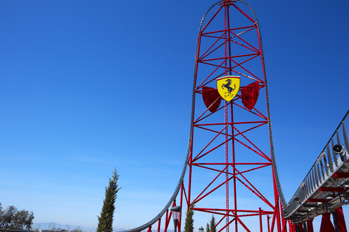 FERRARI LAND TIENDAS PHOTORIDE RED FORCE