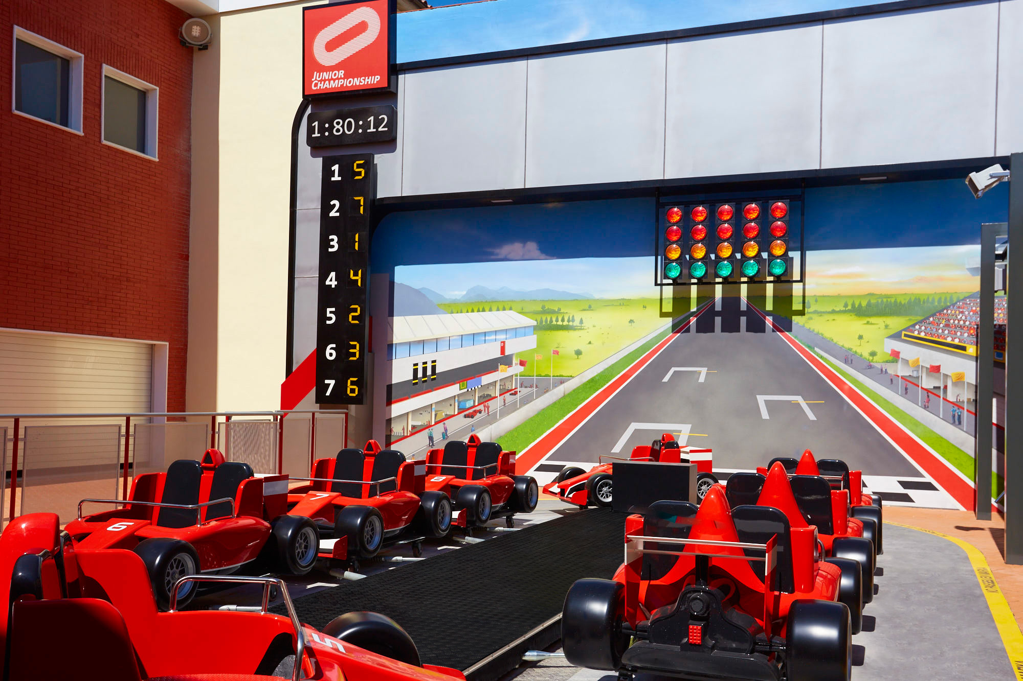 Junior Championship Ferrari Land 1