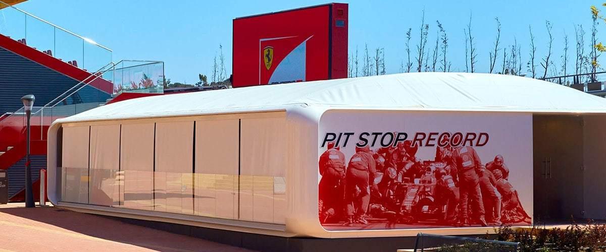 Pit Stop Record Ferrari Land 1
