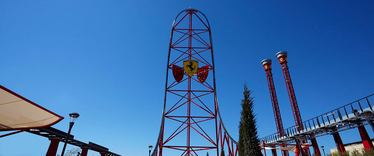 Red Force Ferrari Land 1