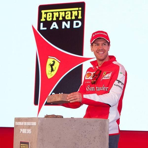 Eventos en Ferrari Land