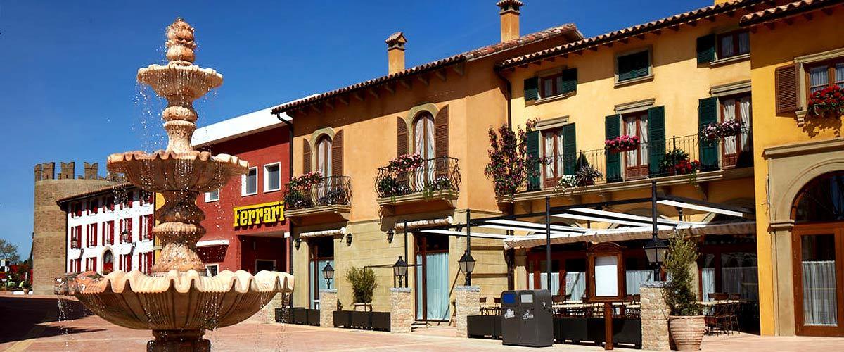 Restaurante Paddock Ferrari Land