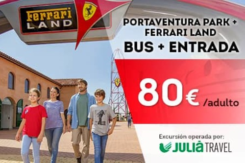 Promociones - Promo Julià Travel Excursión Barcelona - Opción Ferrari (ES)