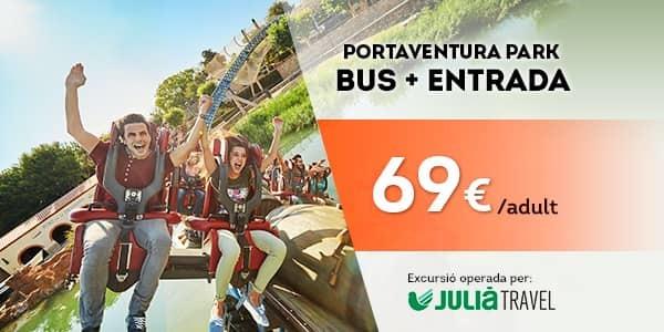 Promociones - Promo Julià Travel Excursión Barcelona - Opción Park (CA)