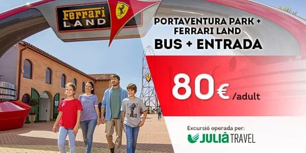 Promociones - Promo Julià Travel Excursión Barcelona - Opción Ferrari (CA)