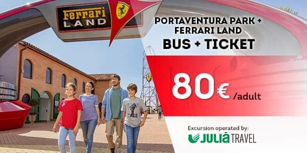 Promociones - Promo Julià Travel Excursión Barcelona - Opción Ferrari (EN)