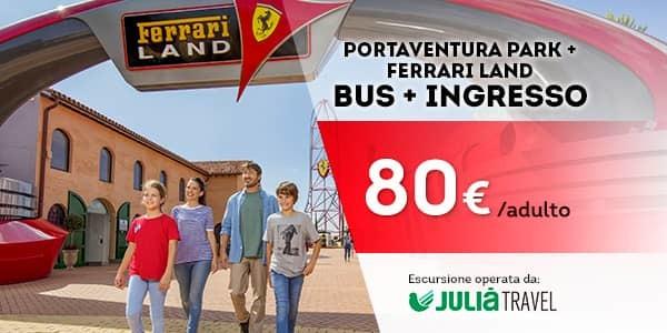 Promociones - Promo Julià Travel Excursión Barcelona - Opción Ferrari (IT)
