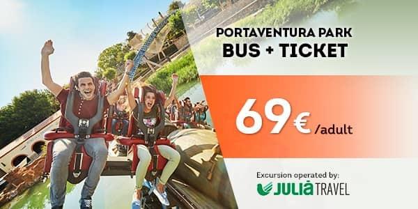 Promociones - Promo Julià Travel Excursión Barcelona - Opción Park (EN)