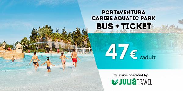 Promociones - Promo Julià Travel Excursión Barcelona - Opción Aquatic(EN)