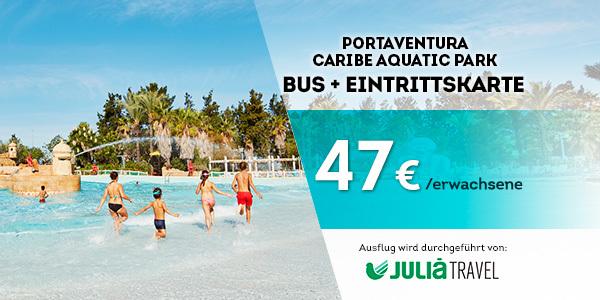 Promociones - Promo Julià Travel Excursión Barcelona - Opción Aquatic(DE)