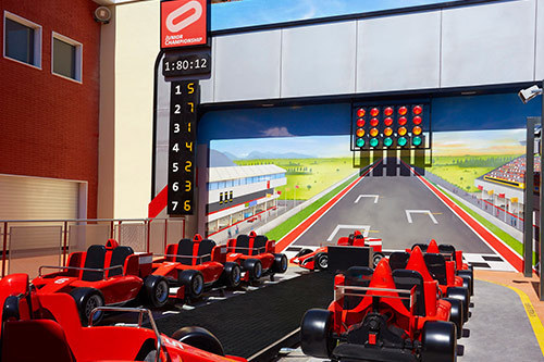 Junior Championship Shop Ferrari Land 2