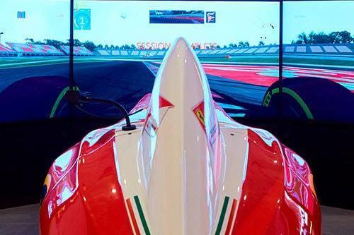 Pole Position Challenge Video Ferrari Land 2