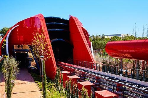 Red Force Ferrari Land 2