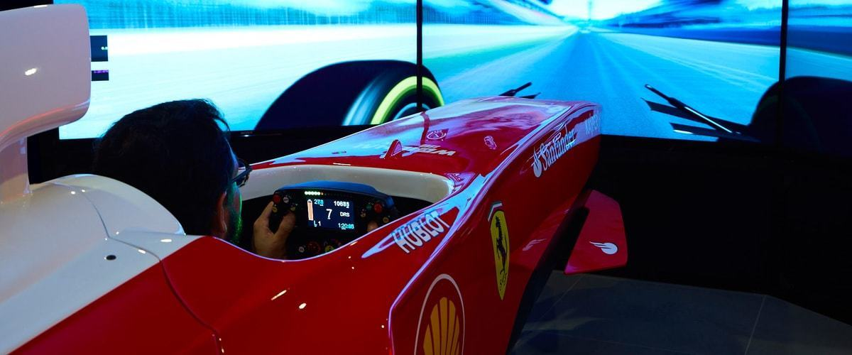 Pole Position Challenge Video Ferrari Land 1