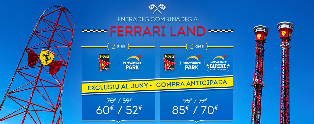 Home - Mosaico - Promo Entradas Ferrari Land Offer June (CA)