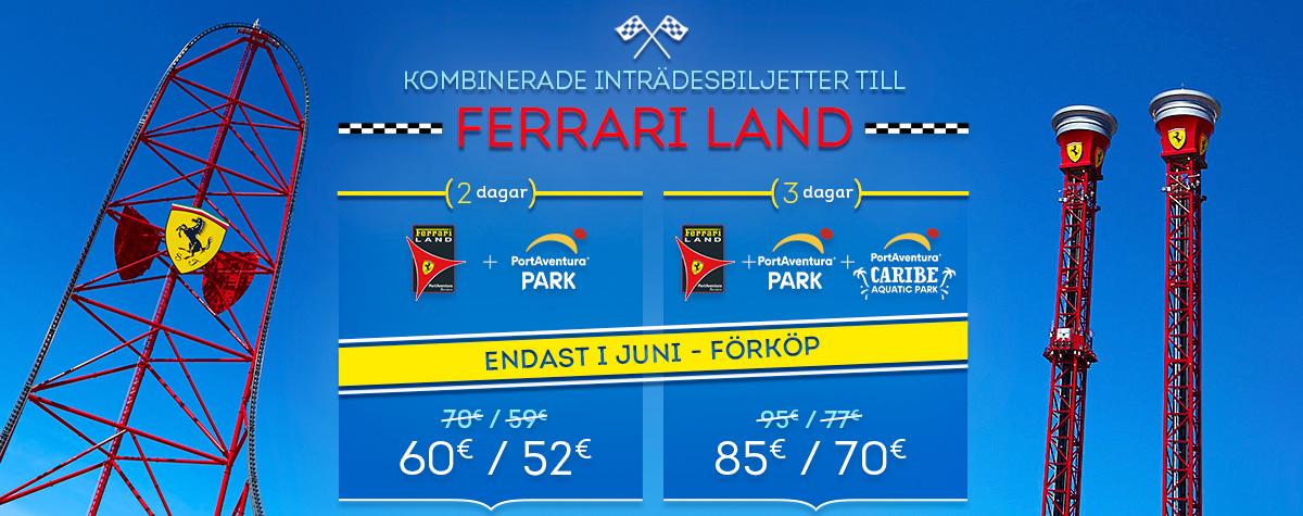 Home - Mosaico - Promo Entradas Ferrari Land Offer June (SV)