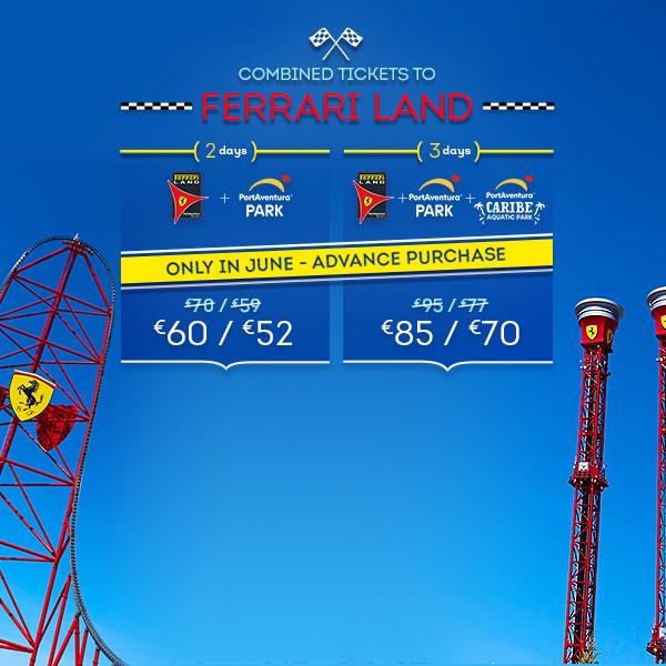 Promoción - Otras promociones - Promo Entradas Ferrari Land Offer June (EN)