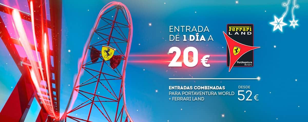Home - Mosaico - Nueva Promoción Tickets Ferrari DESDE 52€ (ES)