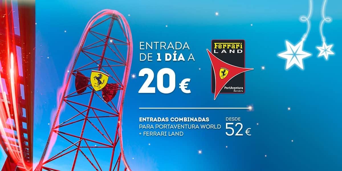 Promoción - Slider - Nueva Promoción Tickets Ferrari DESDE 52€ (ES)