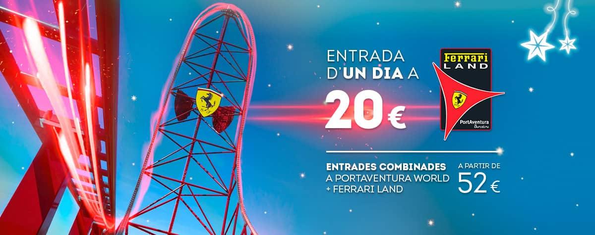 Home - Mosaico - Nueva Promoción Tickets Ferrari DESDE 56€ (CA)