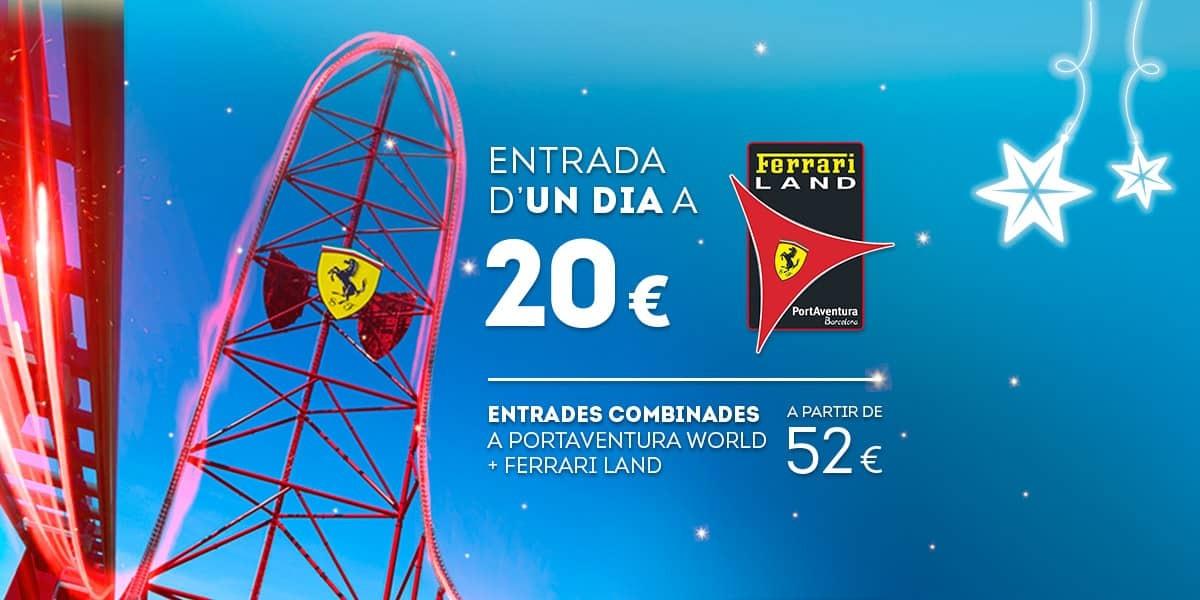 Promoción - Slider - Nueva Promoción Tickets Ferrari DESDE 52€ (CA)