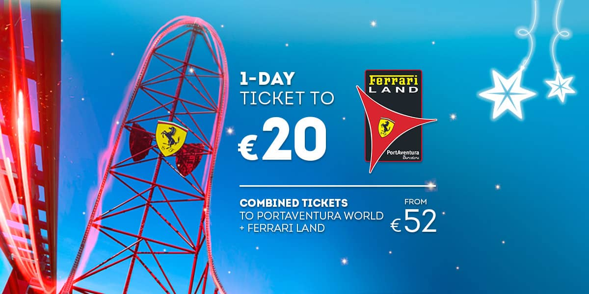 Home - Mosaico - Nueva Promoción Tickets Ferrari DESDE 56€ (EN)