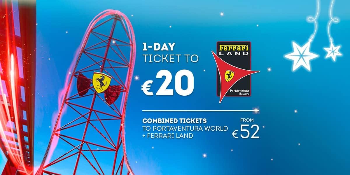 Promoción - Slider - Nueva Promoción Tickets Ferrari DESDE 52€ (EN)